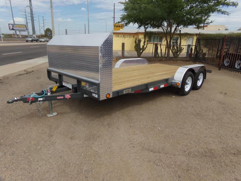 2019 PJ Trailers C4182 Car / Racing Trailer