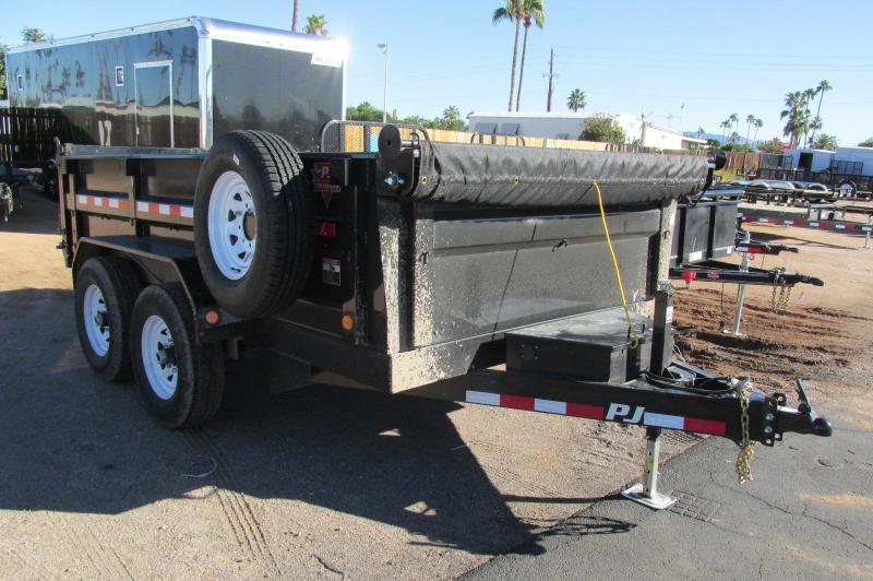 dump bed trailer rental 1