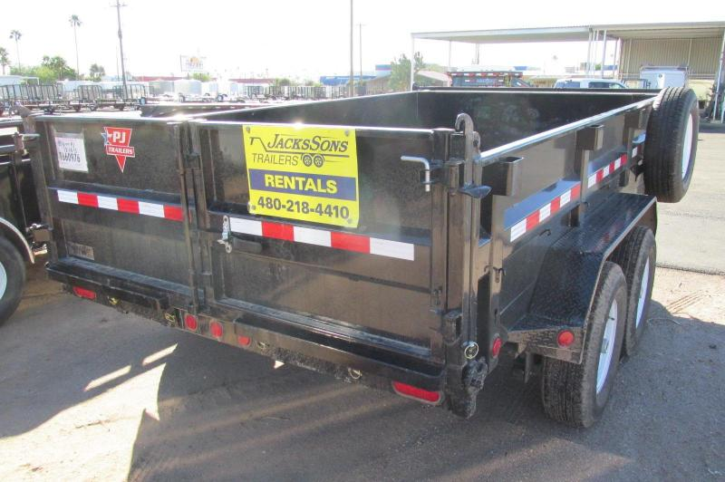 dump bed trailer rental 3
