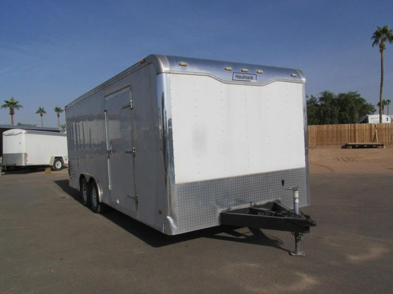 2008 Haulmark 8.5X20 Enclosed Cargo Trailer