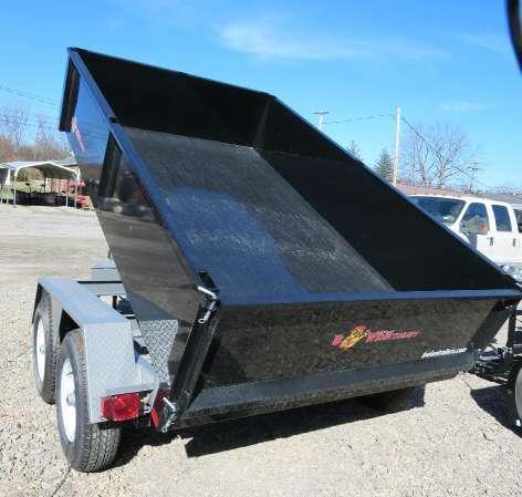 B-Wise DLP10-10 6'x10' Dump Trailer 9.9K GVWR