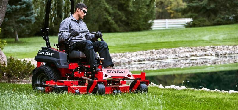 "Gravely Pro-Turn 52"" Commercial Zero Turn Mower"