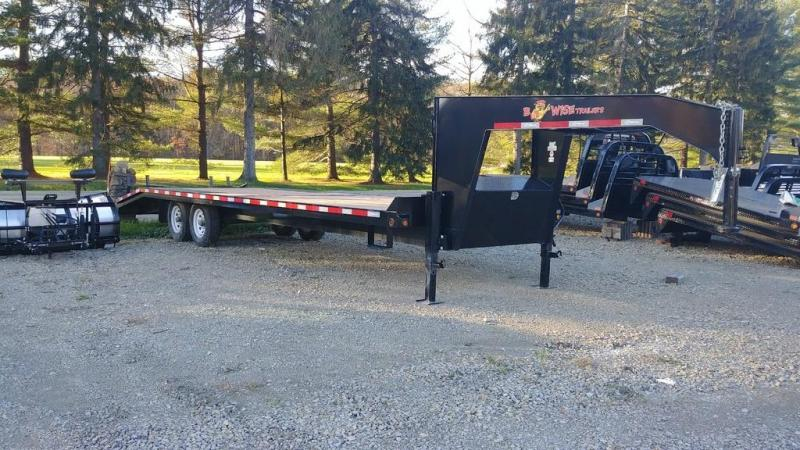 "2017 B-Wise EDG28-16 102""x28' Equipment Trailer 16.8K GVWR"
