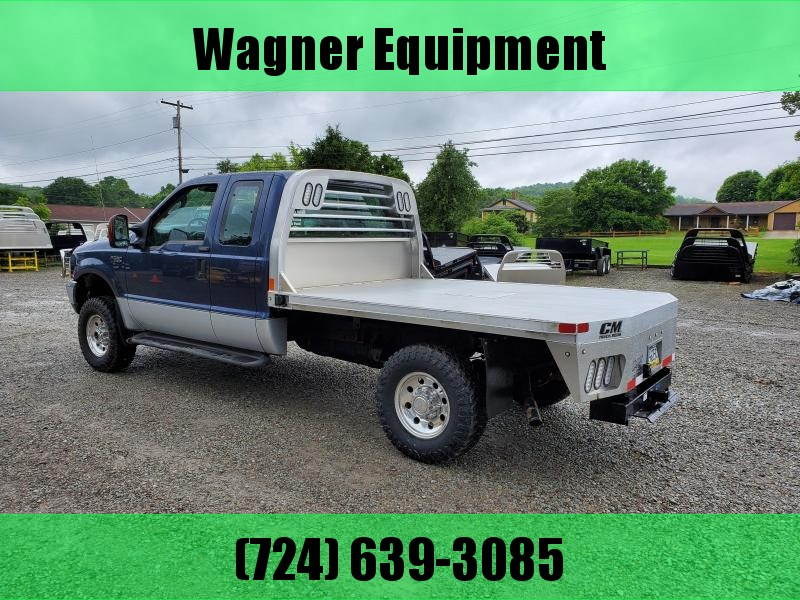 CM RD Aluminum Flatbed FORD SRW 8' Pickup Replacement