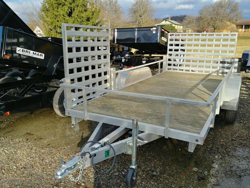 Aluminum ULS6.5X16 16' Deck Length Landscape Utility Trailer