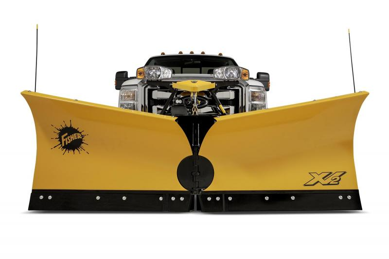 "Fisher 9'6"" XV2 MS Snow Plow"