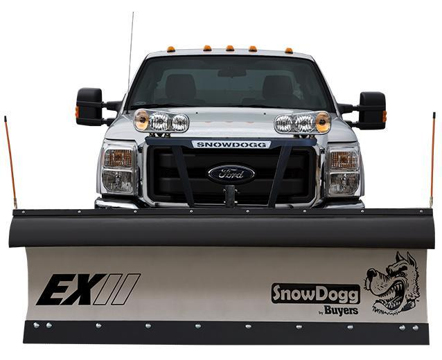 SnowDogg EX85 Gen II Snow Plow - CLEARANCE - LAST ONE IN STOCK!