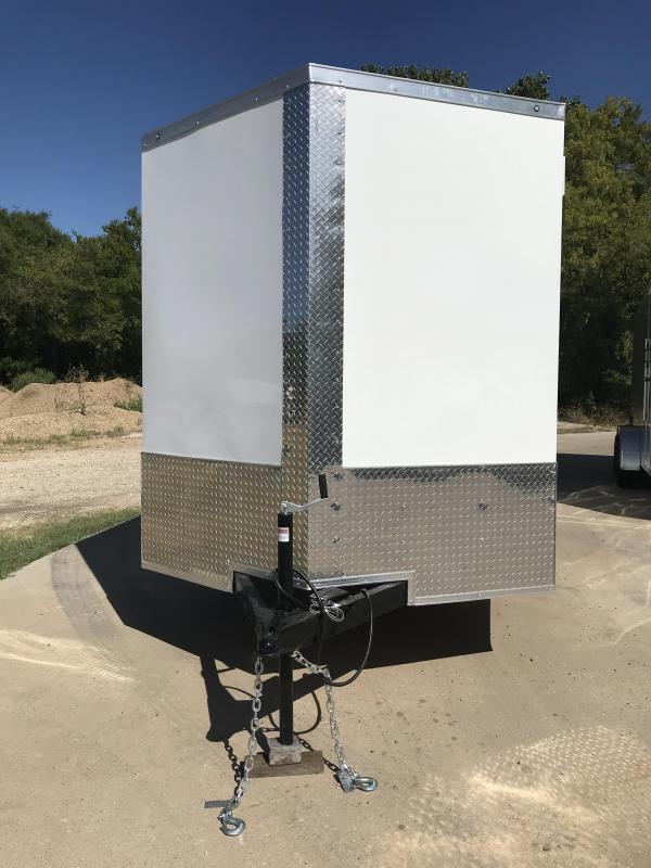 2020 Salvation 7x16 Enclosed Cargo Trailer
