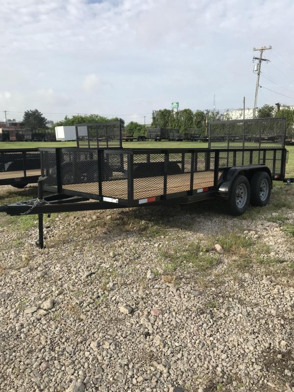 2018 Salvation 78x16 Trash Utility Trailer