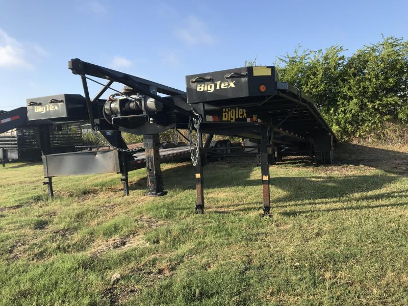 2018 USED Big Tex 102X52 Wedge Trailer