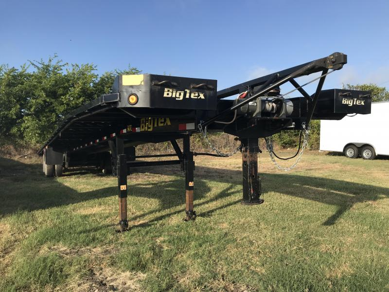 2018 USED Big Tex 102X52 Wedge Trailer