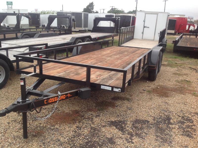 2018 Salvation Trailers 78x18 Utility Trailer