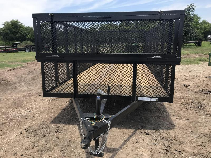 2019 Salvation Trailers 83x16 Landscape Trailer