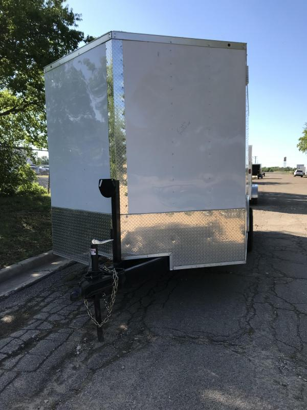 2019 Salvation 8.5x16 Enclosed Cargo Trailer