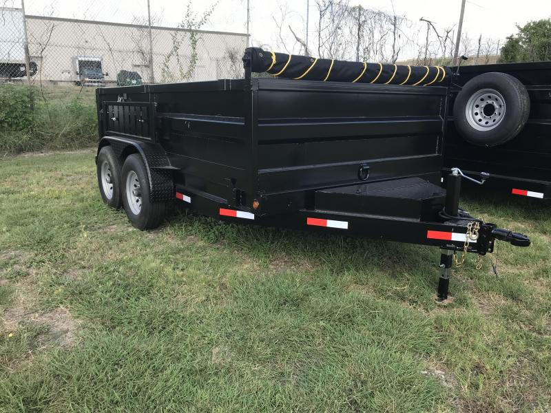 2019 Salvation 7x12 Dump Trailer
