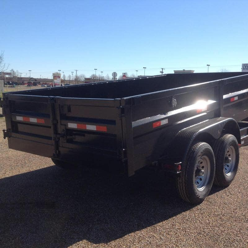 2019 Salvation 7x12 dump Dump Trailer