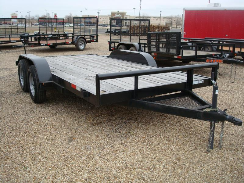 2018 Salvation Trailers CAR 83X14 Flatbed Trailer