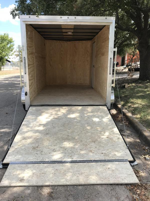 2020 Salvation 7x12 Enclosed Cargo Trailer