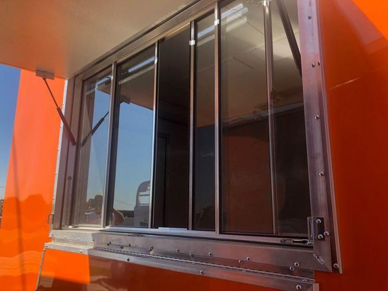 2020 Salvation Trailers 8.5X16TA Orange Vending / Concession Trailer