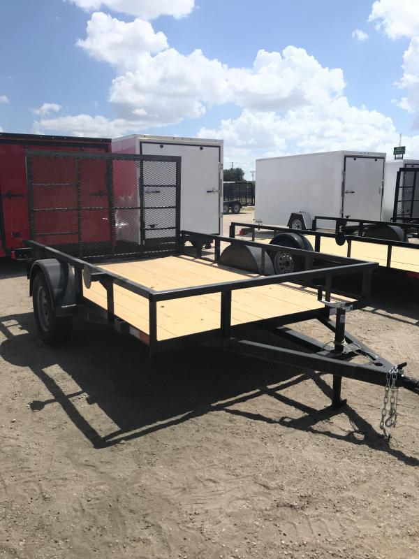 2020 Salvation 77x10 Utility Trailer