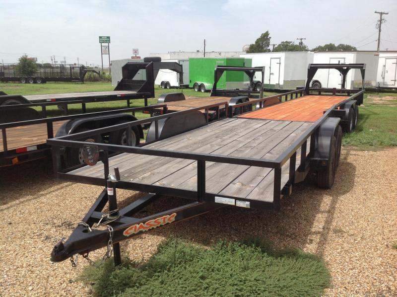 2018 Salvation 83x12 Utility Trailer