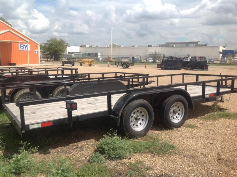 2018 Salvation 77x18 Utility Trailer