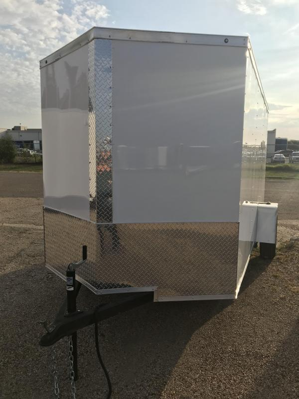 2019 Salvation 6x12 Enclosed Cargo Trailer