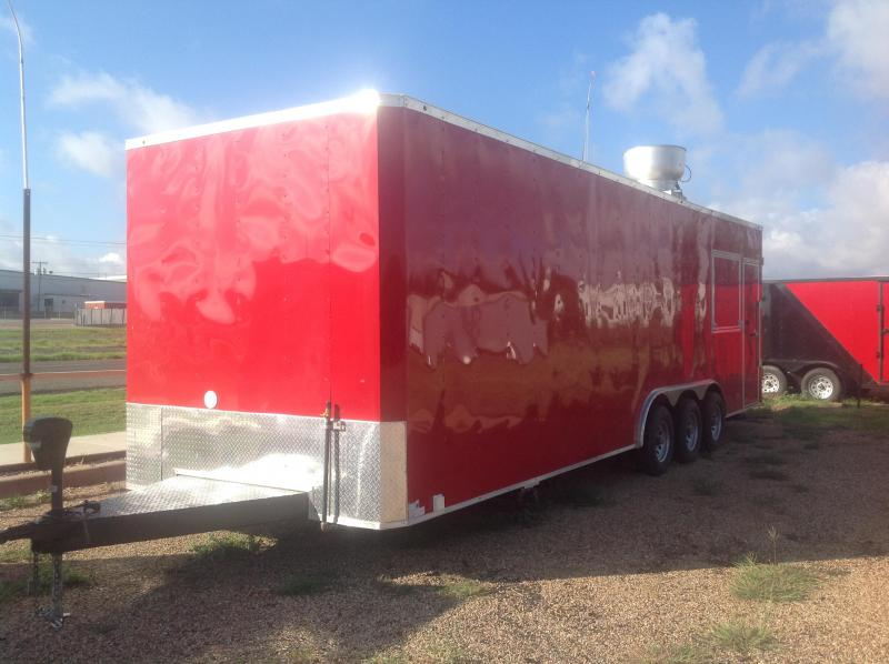 8.5X28 Vending / Concession Trailer