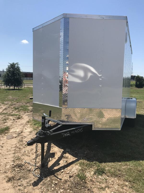 2019 Salvation 7x12 Enclosed Cargo Trailer