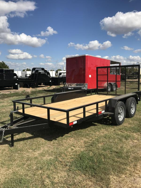 2020 Salvation 78x14 Utility Trailer