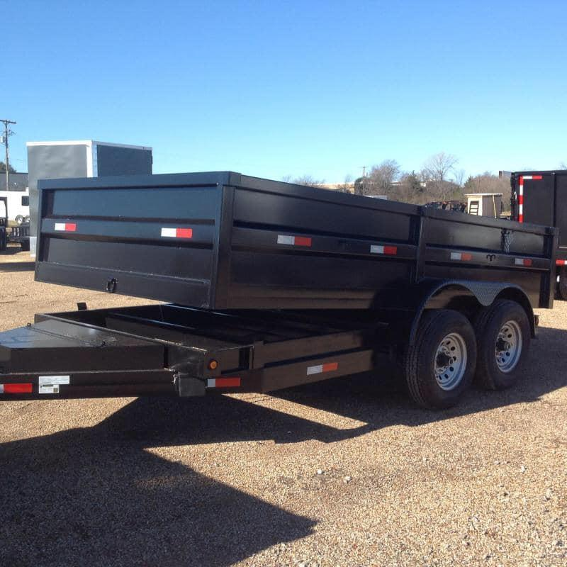 2019 Salvation 7x14 dump Dump Trailer