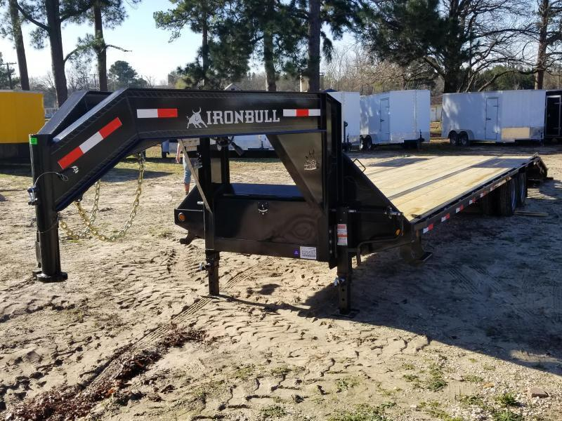 2019 Norstar IronBull Trailers 102X32 Equipment Trailer
