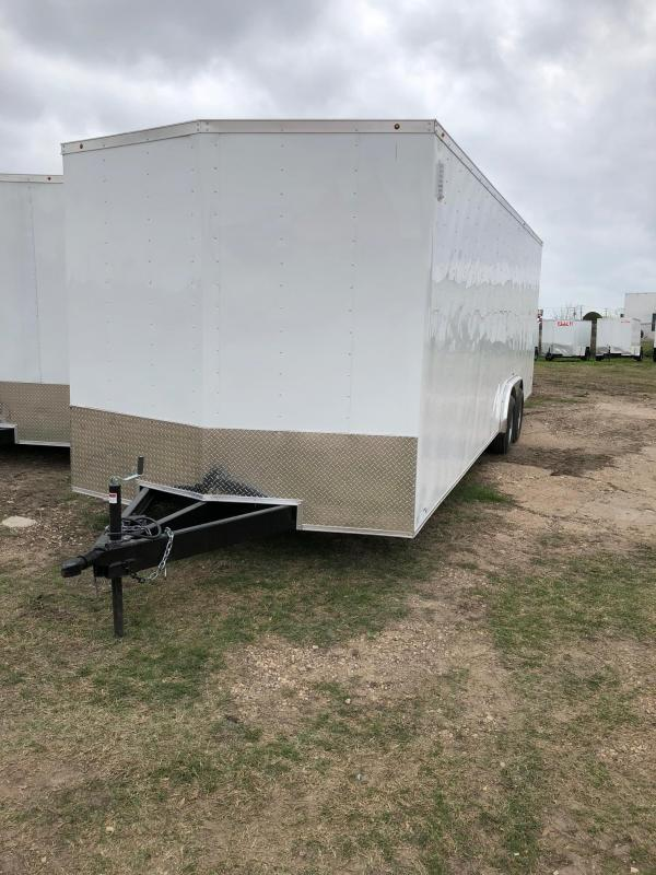2018 8.5X24 CARGO Enclosed Cargo Trailer