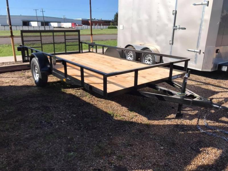 2019 Salvation 77X14 Utility Trailer