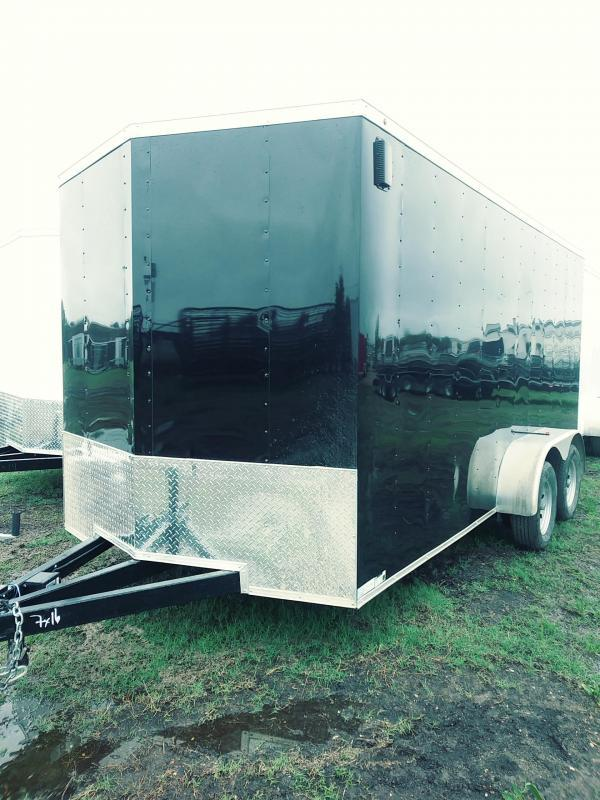 2018 Salvation Trailers 7x16 Cargo Enclosed