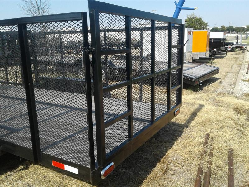 2017 Salvation Trailers LANDSCAPE83X20 Utility Trailer