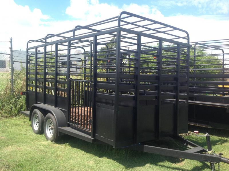 2019 Salvation Trailers 77x14 Cattle Trailer