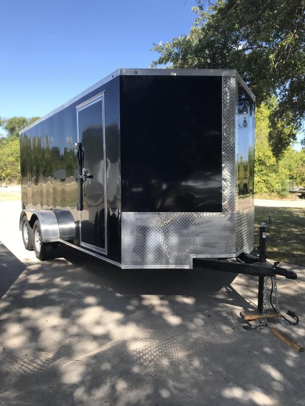 2020 Salvation 7x16 Enclosed Cargo Trailer
