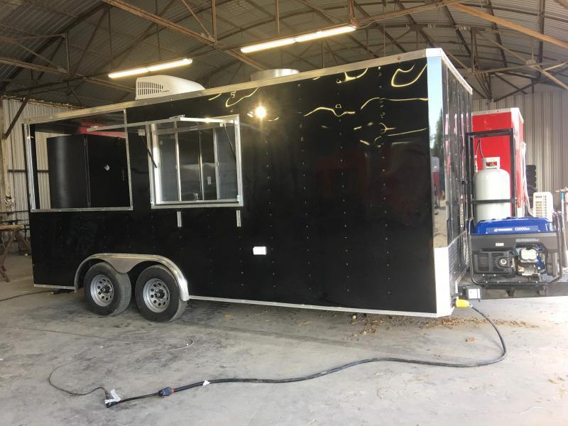 8.5x18 Vending / Concession Trailer