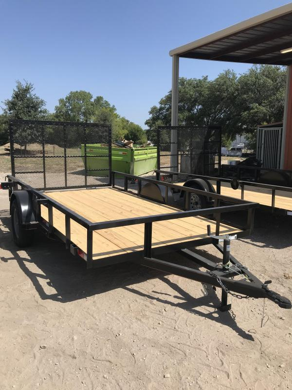 2020 Salvation 77x12 Utility Trailer