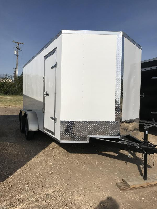 2020 Salvation 7x14 Enclosed Cargo Trailer