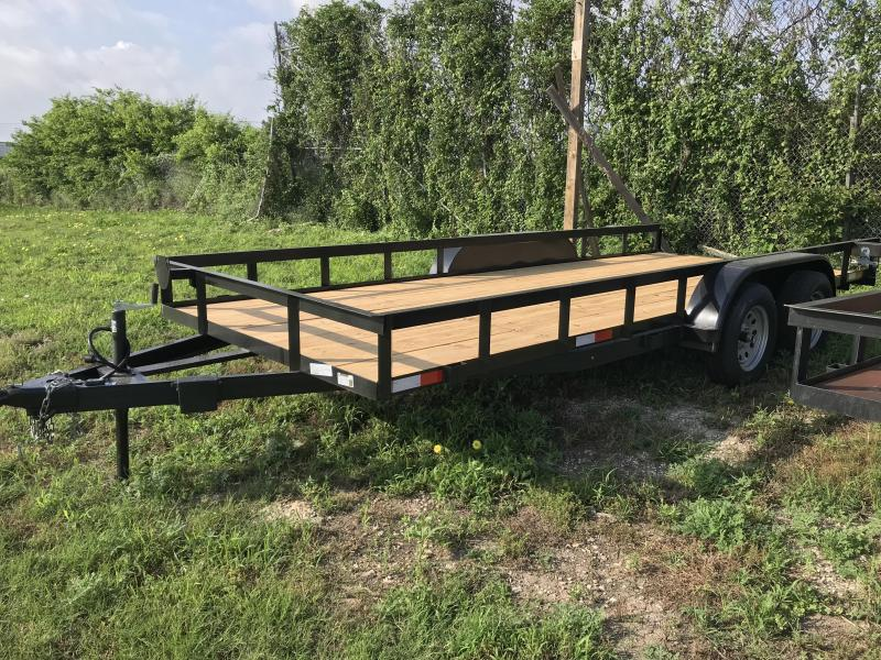 2019 Salvation 83x18 Utility Trailer