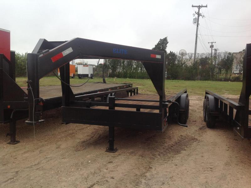 2019 Salvation 83x20 Flatbed Trailer