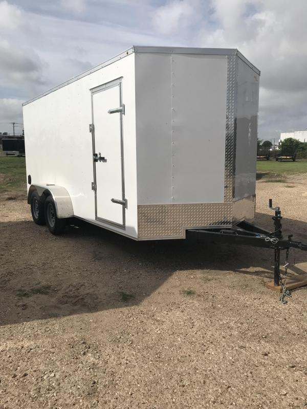 2018 Salvation 7x16 Enclosed Cargo Trailer