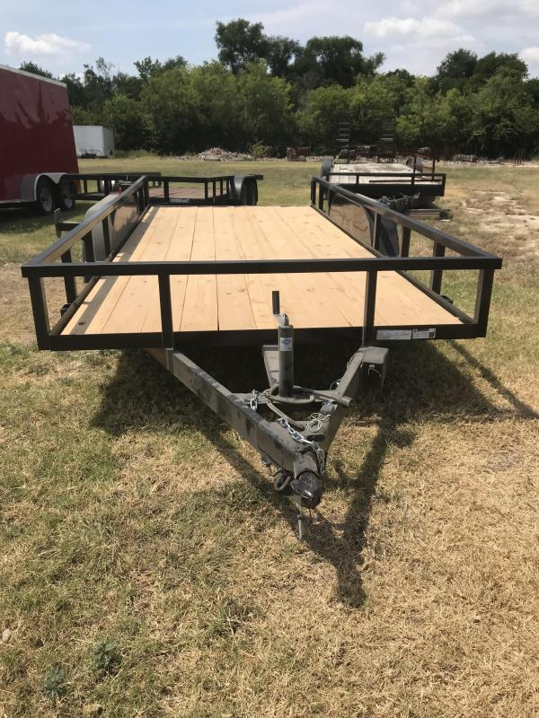 2019 Salvation 78x16 Utility Trailer