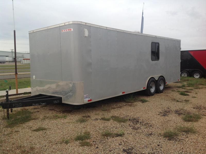 2018 Salvation Trailers 8.5x24 Equipment Trailer