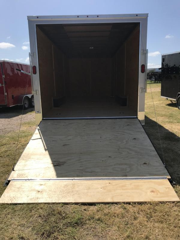 2019 Salvation 8.5x24 Enclosed Cargo Trailer