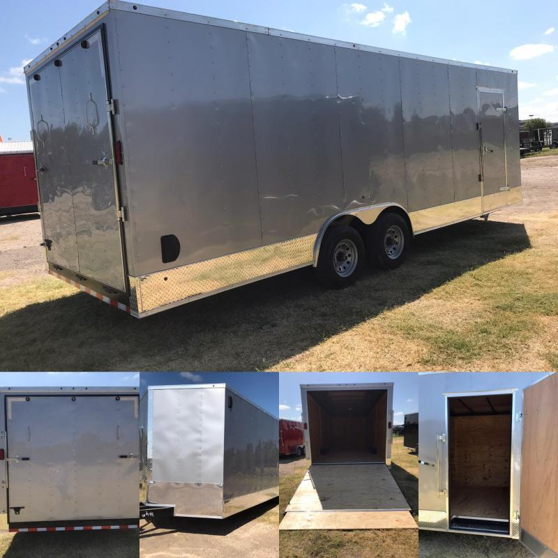 2019 Salvation 8.5x24 Enclosed Cargo Trailer