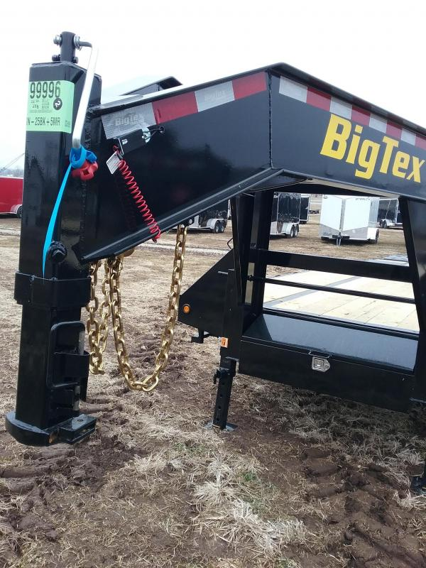 2019 Big Tex 22GN 25BK 5MR Equipment Trailer
