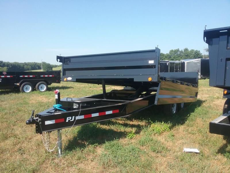 14 Foot PJ Deckover Dump Trailer